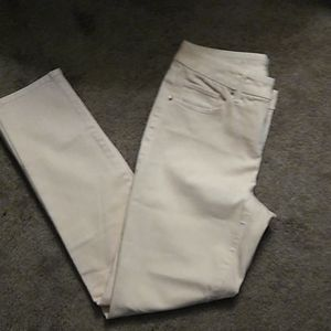 Chico girlfriend jeans light pink sz 00